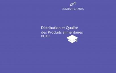 Distribution et Qualité des Produits alimentaires