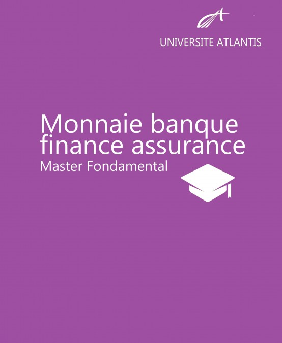 Monnaie banque finance assurance