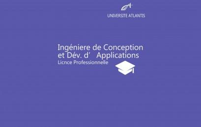 Ingéniere de Conception et Dév. d'Applications