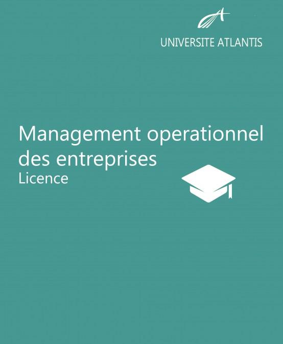 Management operationnel des entreprises