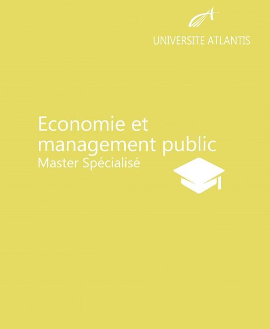 Economie et management public